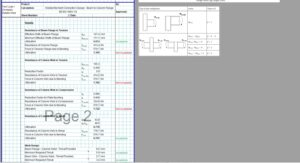 Moment Connection Design Spreadsheet - Welded Beam to Column 2