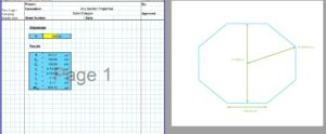 Section Modulus of Octagon Calculator - Solid Octagon