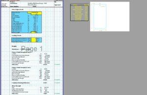 Steel Beam Design Spreadsheet - Box HSS AISC