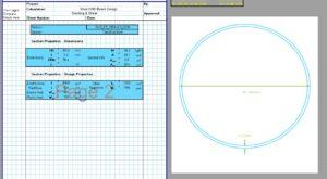 Steel Beam Design Spreadsheet - CHS2