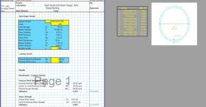 Steel Beam Design Spreadsheet - Round HSS AISC