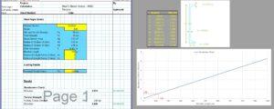 Steel Channel Design Spreadsheet - AISC Tension