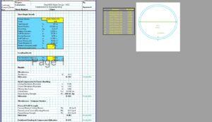 Steel Column Design Spreadsheet - AISC Round HSS