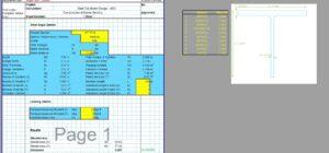 Steel Column Design Spreadsheet - AISC WT Section1
