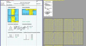 Steel Column Design Spreadsheet - CHS