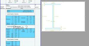 Steel Column Design Spreadsheet - I Section3