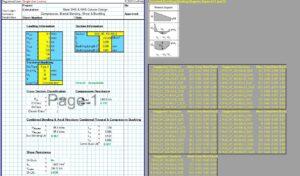 Steel Column Design Spreadsheet - RHS1