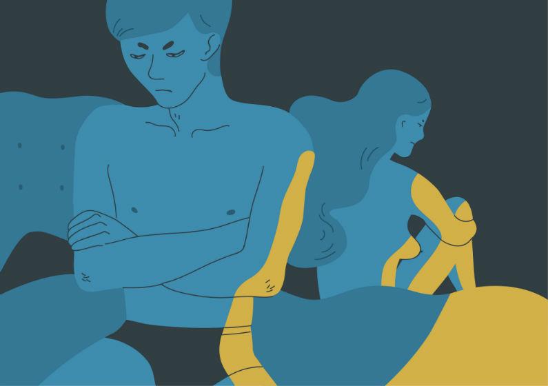 Manglende sexlyst kan skabe konflikter i parforholdet