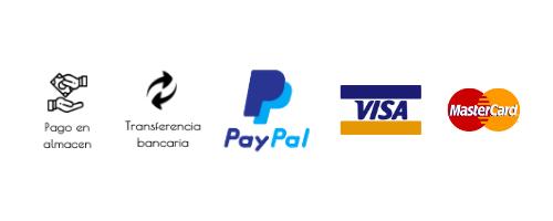 Metodos de pago en Racksrooster