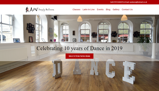 AW School of dance website
