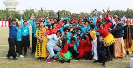 "Annual Sports Day-2019: ""EBULLIENCE"" held on 14th December,2019. Fr. Agnel School Beta-II, Pocket - F Greater Noida"