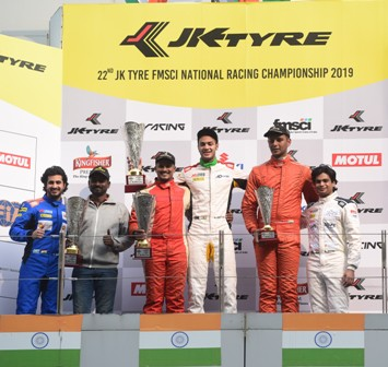 JK Tyre Festival of Speed being held at Buddh International Circuit
