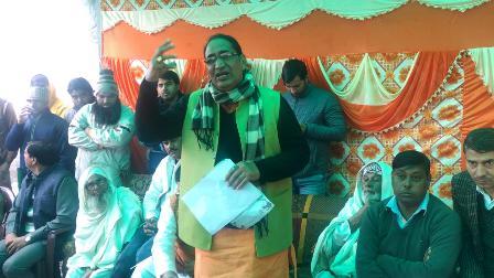 दादरी विधायक ने मुस्लिम समुदाय में व्याप्त संशय व भ्रम को किया दूर