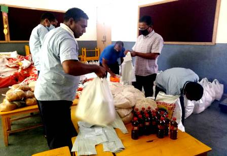 150 families provided ration packets during lock down in ordination with greater noida development authority