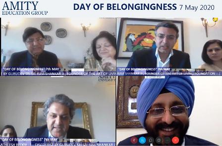 """Amity University Celebrates """"Day of Belongingness"""""""