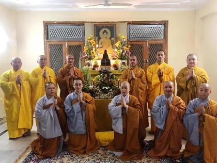 #Gautam Buddha University, #Celebrated, #Buddha ,#Purnima (Vesak Day), #Covid-19, #pandemic , #Social, #Distancing in Mind