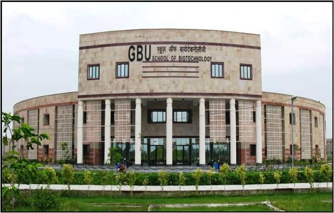 DBT-HRD recognized Gautam Buddha University for Master degree program