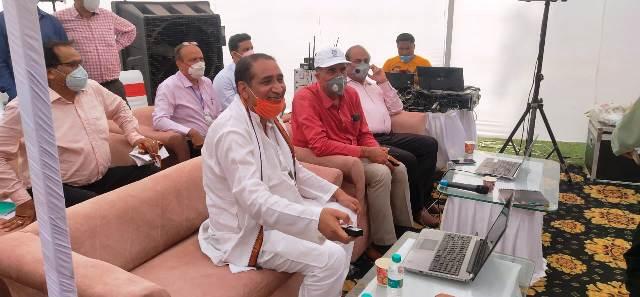 यूपी उप मुख्यमंत्री व राज्यमंत्री ने दादरी क्षेत्र में 6 रेलवे ओवर ब्रिज का किया शिलान्यास