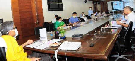 मिशन प्रेरणा क्रियान्वयन के लिए मुख्य सचिव की अध्यक्षता में टास्क फोर्स की बैठक