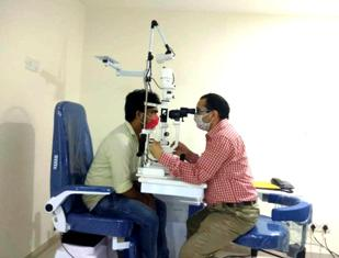 कानपुर में आँखों के नए अस्पताल का उदघाटनकिया गया