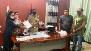 ग्रेनो वेस्ट में आपराधिक घटनाओं पर अंकुश लगाने को नेफोवा ने डीसीपी को दिया ज्ञापन