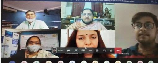 एनआईईटी में एंटीबॉयटिक प्रतिरोध, कारण एवं डिजिटल भारत में चुनौतियां विषय पर आयोजित कांफ्रेस का हुआ समापन