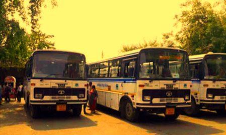 डग्गामार वाहनों से मिला छुटकारा, छह माह के बाद शुरू हुआ बसों का संचालन