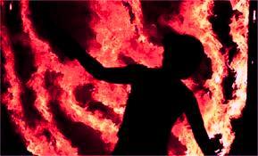 संदिग्ध परिस्थितियों में महिला झुलसी, गम्भीर