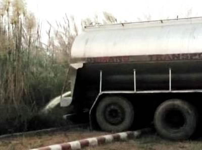 नकली केमिकल्स युक्त 26 हजार लीटर दूध को नाले में बहाया, राजस्थान से लाकर जिले में हो रही थी सप्लाई