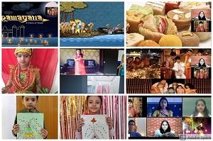जीडी गोयनका के बच्चों ने धूमधाम से मनाया दीपावली का त्योहार