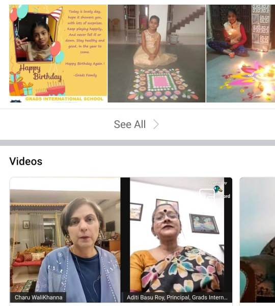 Grads International School organised a two day Live Webinar observe Child Rights Week