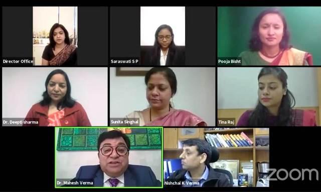 केसीसी में ऑनलाइन सेमिनार में बहुस्तरीय प्रवेश व आईटी विषयों पर हुई चर्चा