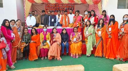 विशाल युवा हिन्दू वाहिनी के राष्ट्रीय अधिवेशन में देशभर के पदाधिकारी हुए शामिल