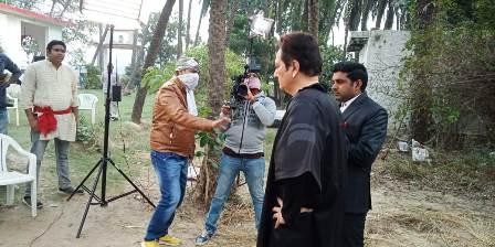 """युवाओं में बढ़ते नशा पर आधारित है फिल्म *""""Risknamaa 2""""*, अरुण नागर ने किया निर्देशन, जिले के युवाओं मिला मौका"""