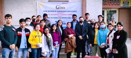 जीएनआईओटी प्रबंध संस्थान ग्रेटर नोएडा में आउटबाउंड ट्रेनिंग का आयोजन