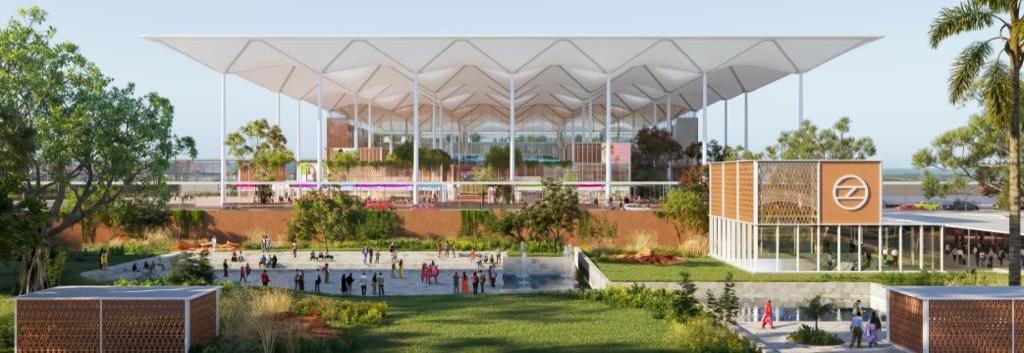 नए साल में प्रधानमंत्री रखेंगे एयरपोर्ट की नींव, जेवर एयरपोर्ट की आयी पहली झलक, ज्यूरिख कंपनी ने सबमिट किया मास्टर प्लान