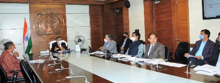 मुख्य सचिव की अध्यक्षता में जेवर एयरपोर्ट के लिए गठित पीएमआईसी-प्रोजेक्ट मॉनिटरिंग इम्प्लमेंटेशन कमेटी की बैठक सम्पन्न