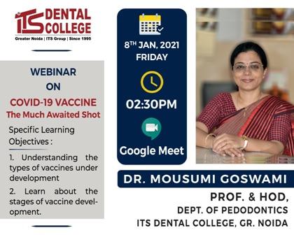 कोरोना वैक्सीन भारत की बहुत बडी उपलब्धि- डॉ. मौसुमी गोस्वामी