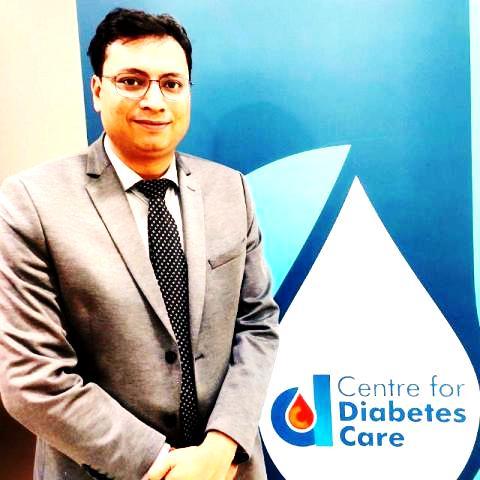 डॉ. अमित गुप्ता को अमेरिकन कॉलेज ऑफ़ एंडोकरिनोलॉजी ने दिया F.A.C.E फेलोशिप
