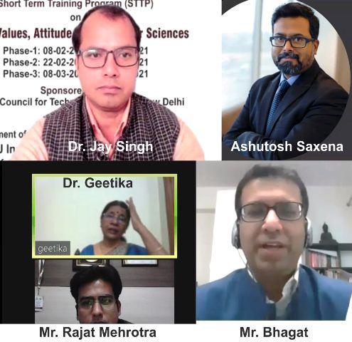 जीएल बजाज में नैतिक मूल्य, मनोवृत्ति और व्यवहार विज्ञान लघु कोर्स का आयोजन