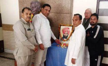 गुर्जर शोध संस्थान में मनायी गयी स्वतन्त्रता सेनानी विजय सिंह पथिक की जयंती