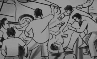 कार सवार बारातियों के साथ मारपीट का आरोप, चार हुए घायल
