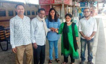 लापता रिंकी कुमारी का 15 महीनों के बाद अपने परिवार से पूनर्मिलन