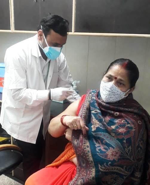 ग्रीन सिटी अस्पताल में कोविड-19 का 40 लोगों को लगा टीका