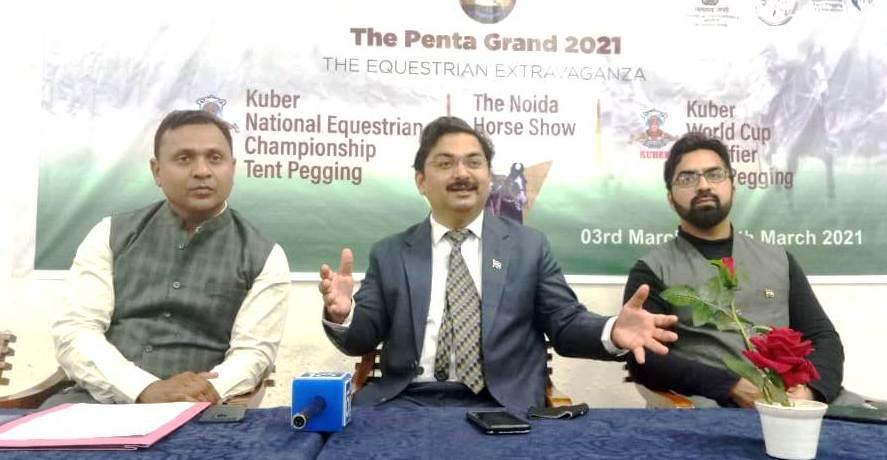 वर्ड कप टेंट पेगिंग (घुड़सवारी) क्वालिफाइंग चैम्पियनशिप का पहली बार हो रहा है आयोजन