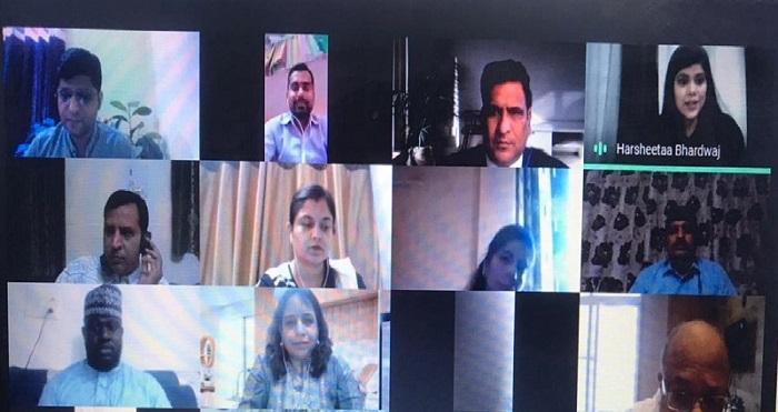 मंगलमय संस्थान में अंतरराष्ट्रीय सेमिनार का हुआ आयोजन