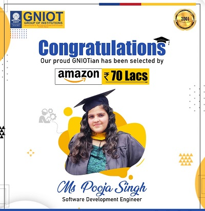 Student of GNIOT Engineering Institute touched the sky of success