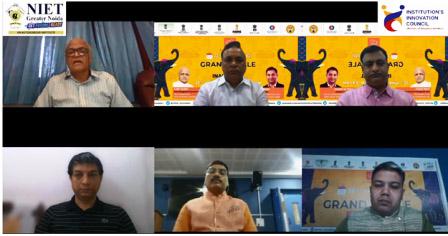 एनआईईटी ट्वायकैथॉन-2021 की ग्रैंड फिनाले का डिजिटल सेन्टर में चयनित, भविष्य के भारत पर चर्चा