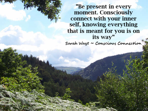 be present in every moment