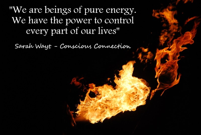 we are beings of pure energy